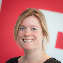 Anke Willems, front-end developer bij Flink